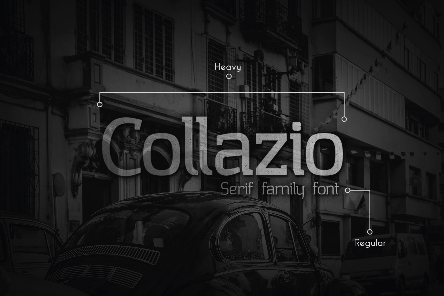 Collazio Serif Family Typeface example image 1
