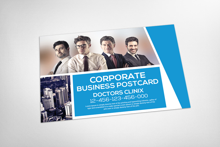 Marketing Corporate Business Postcard example image 3
