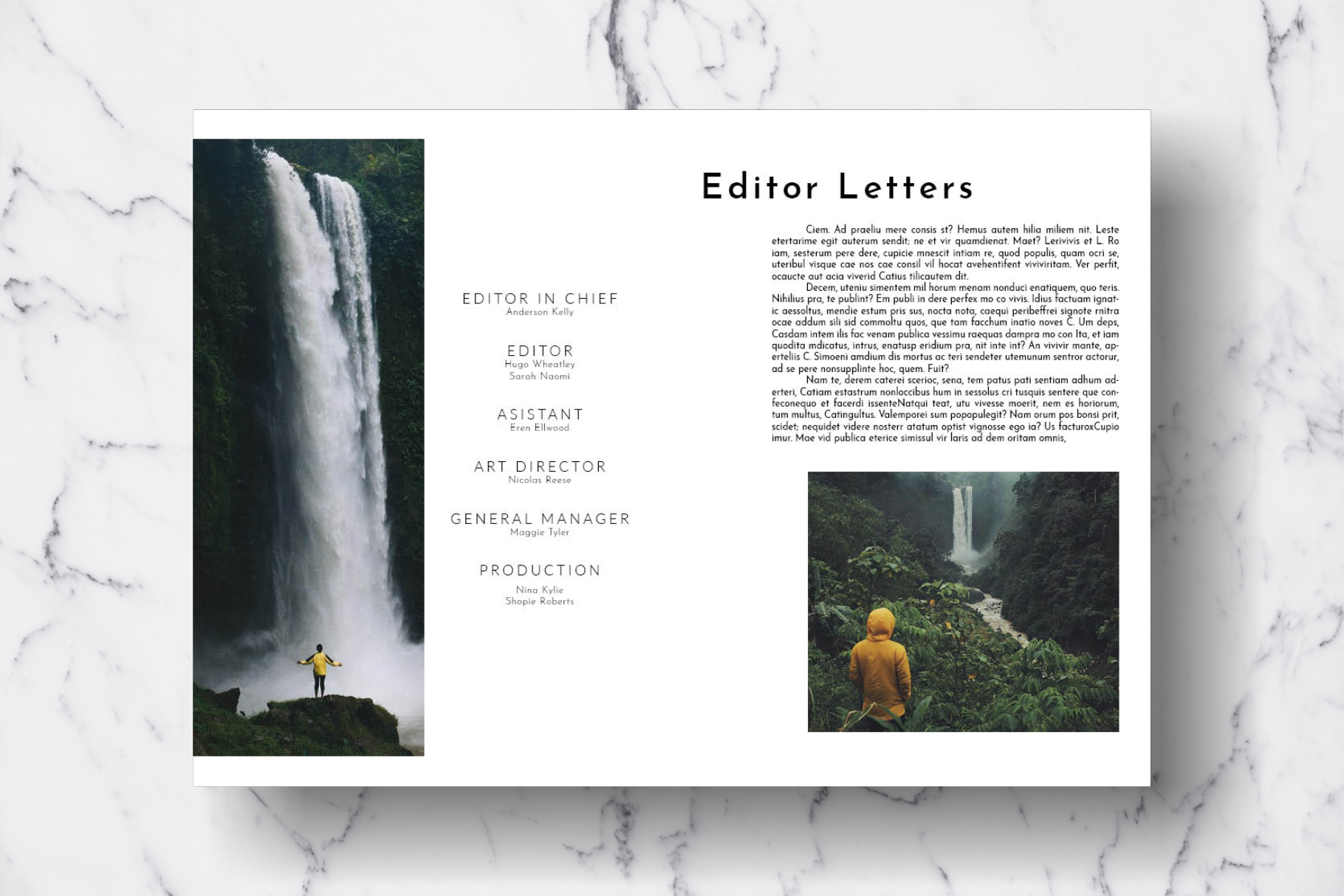 Magazine Template Vol. 18 example image 2