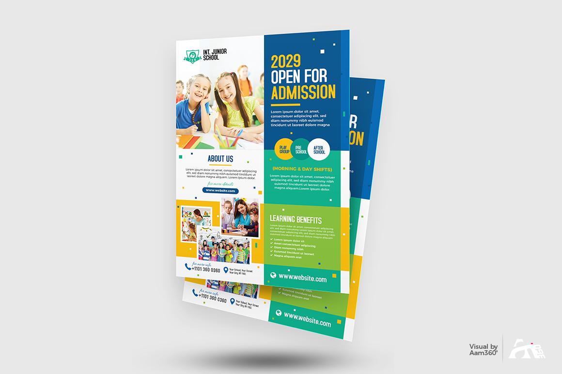 Junior School Admission Flyer example image 4