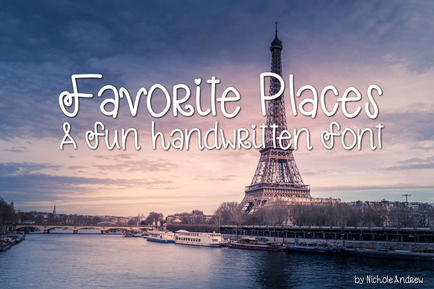 Handwritten Font Pack Featuring 6 Fun Fonts example image 4