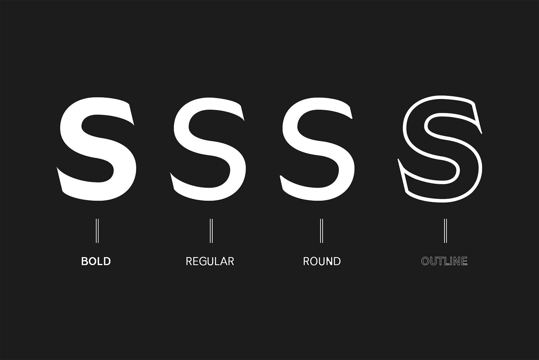 Daecca Sans Serif Font Family example image 2
