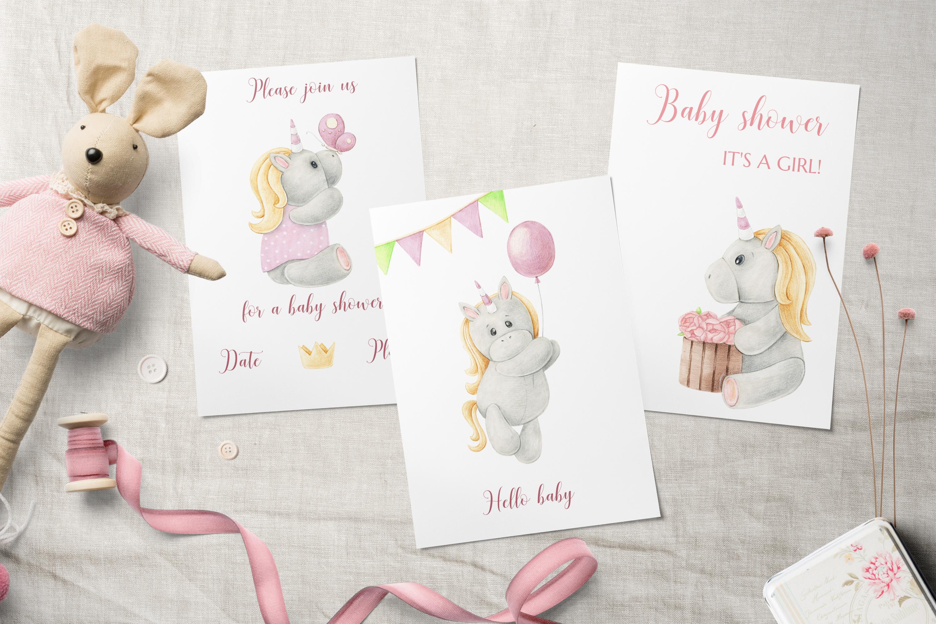Tiny Unicorn Design Set example image 5