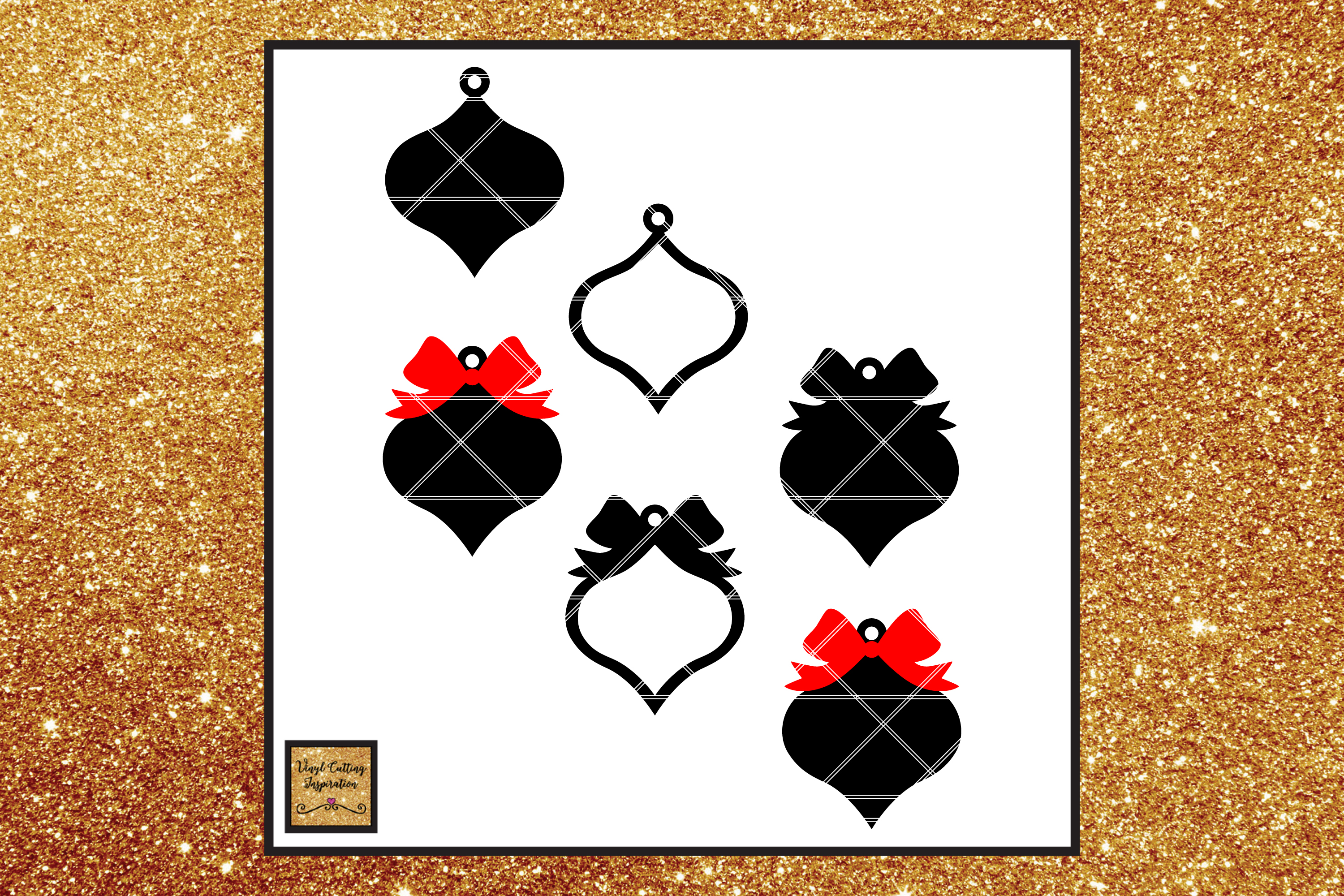 Farmhouse Christmas Ornaments, Christmas Svg, Christmas example image 3