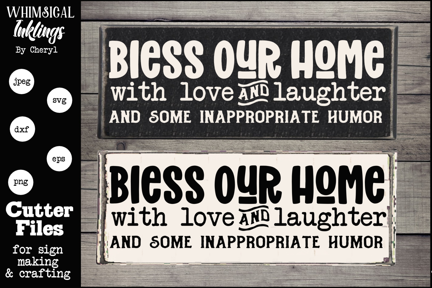 Love Laughter And Humor SVG example image 1