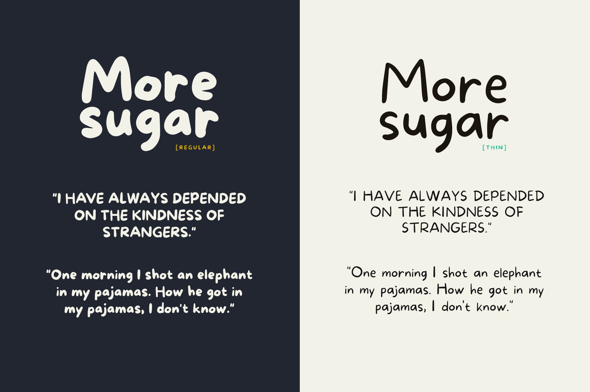 More Sugar + Extras example image 4