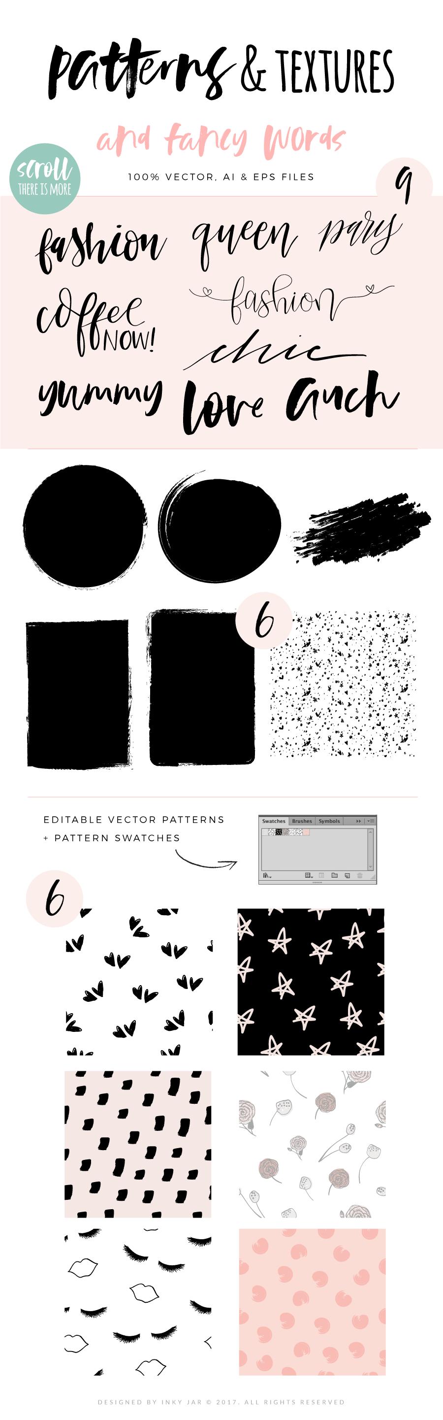 Fashion/Lifestyle illustration pack example image 6