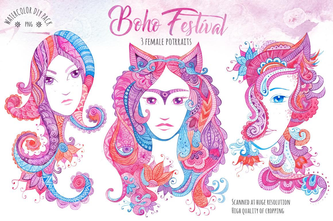 ?Boho Festival? DIY Pack example image 2