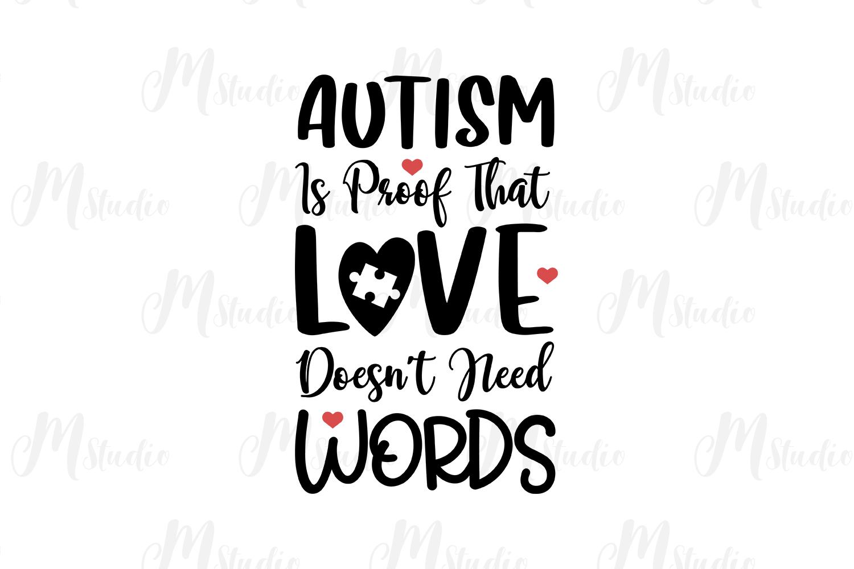 Autism Quotes svg bundle example image 7