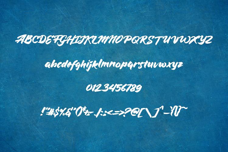 Bluesilky Typeface example image 5