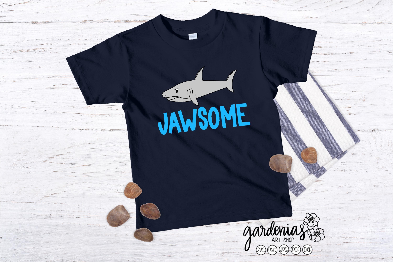 Jawsome Shark SVG   Shark Vector   Shark Clip Art   Pun example image 1