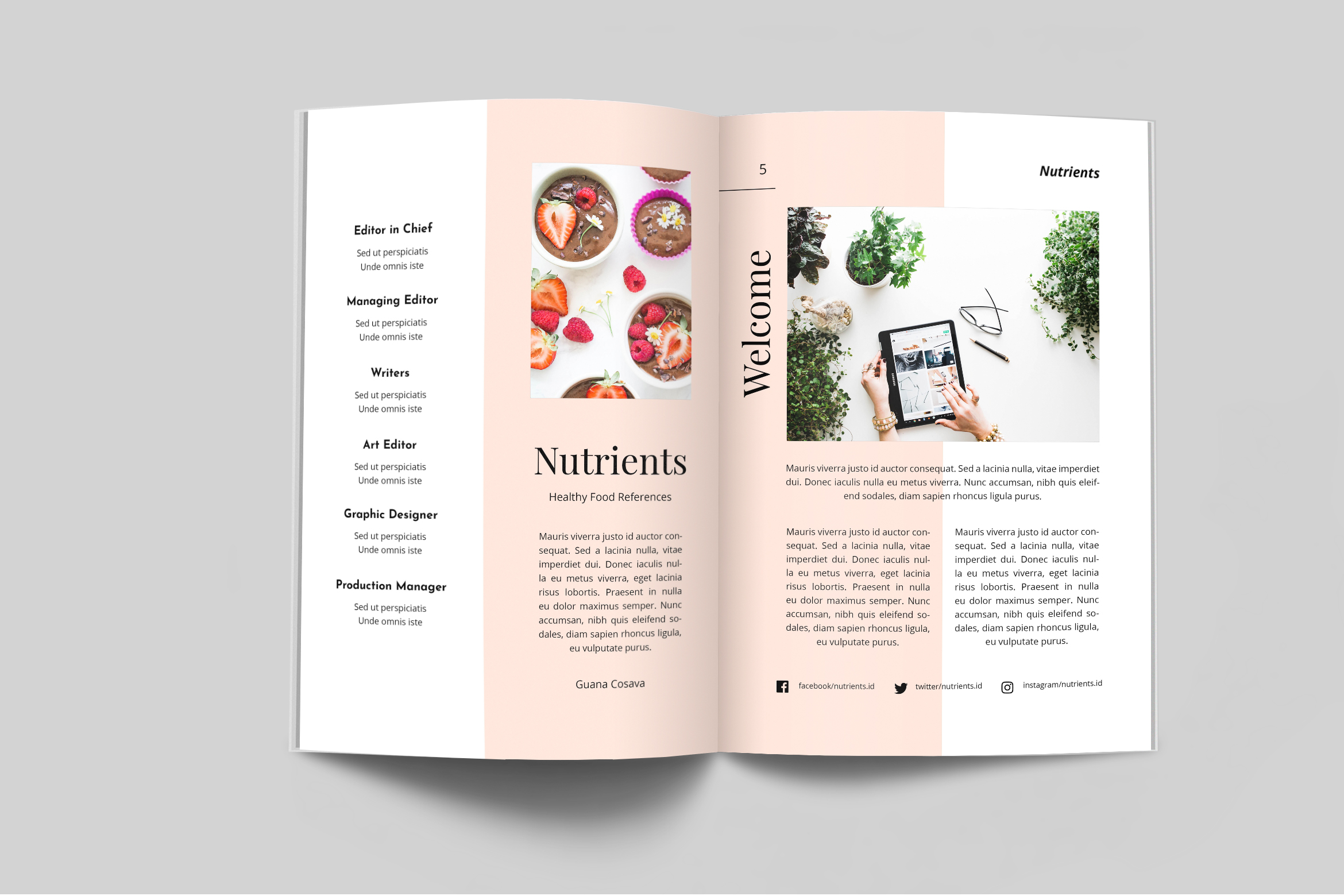 Nutrient - Food Catalogue Template example image 2