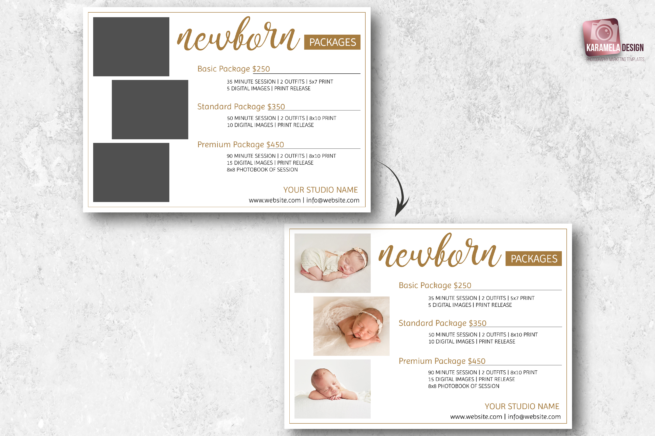 Newborn Photography Pricing Guide Template example image 2