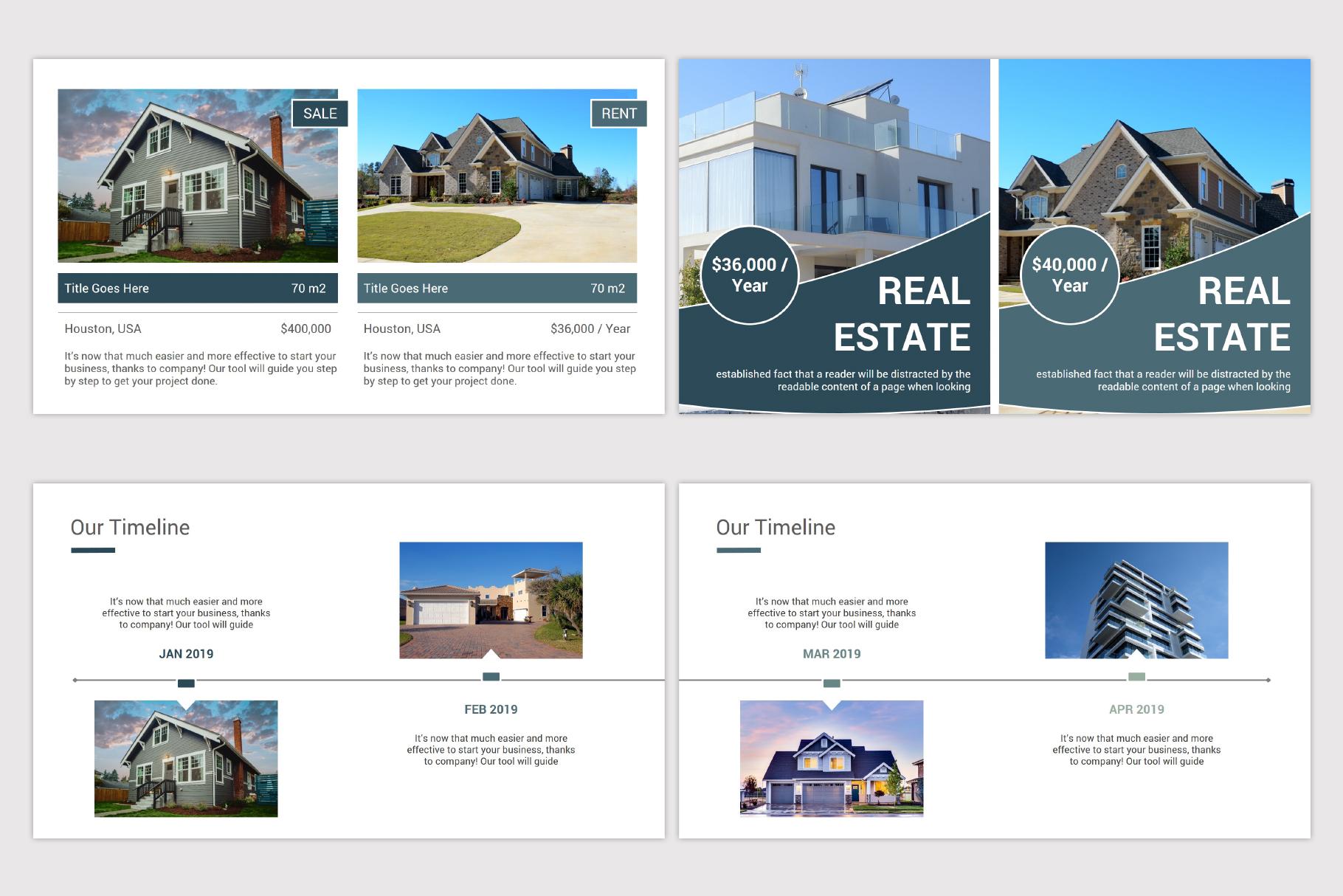Real Estate Google Slides Template example image 10
