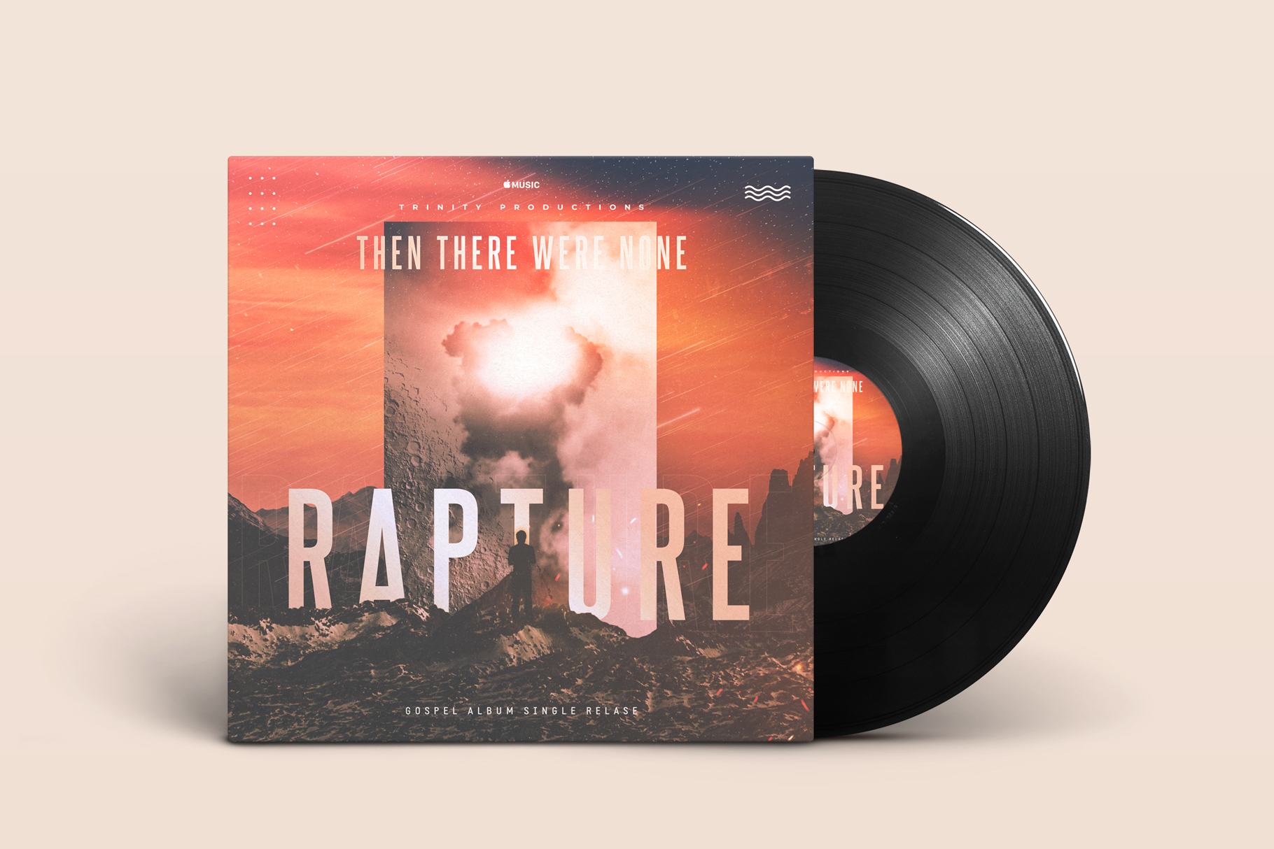 Rapture Album Cover Template example image 1