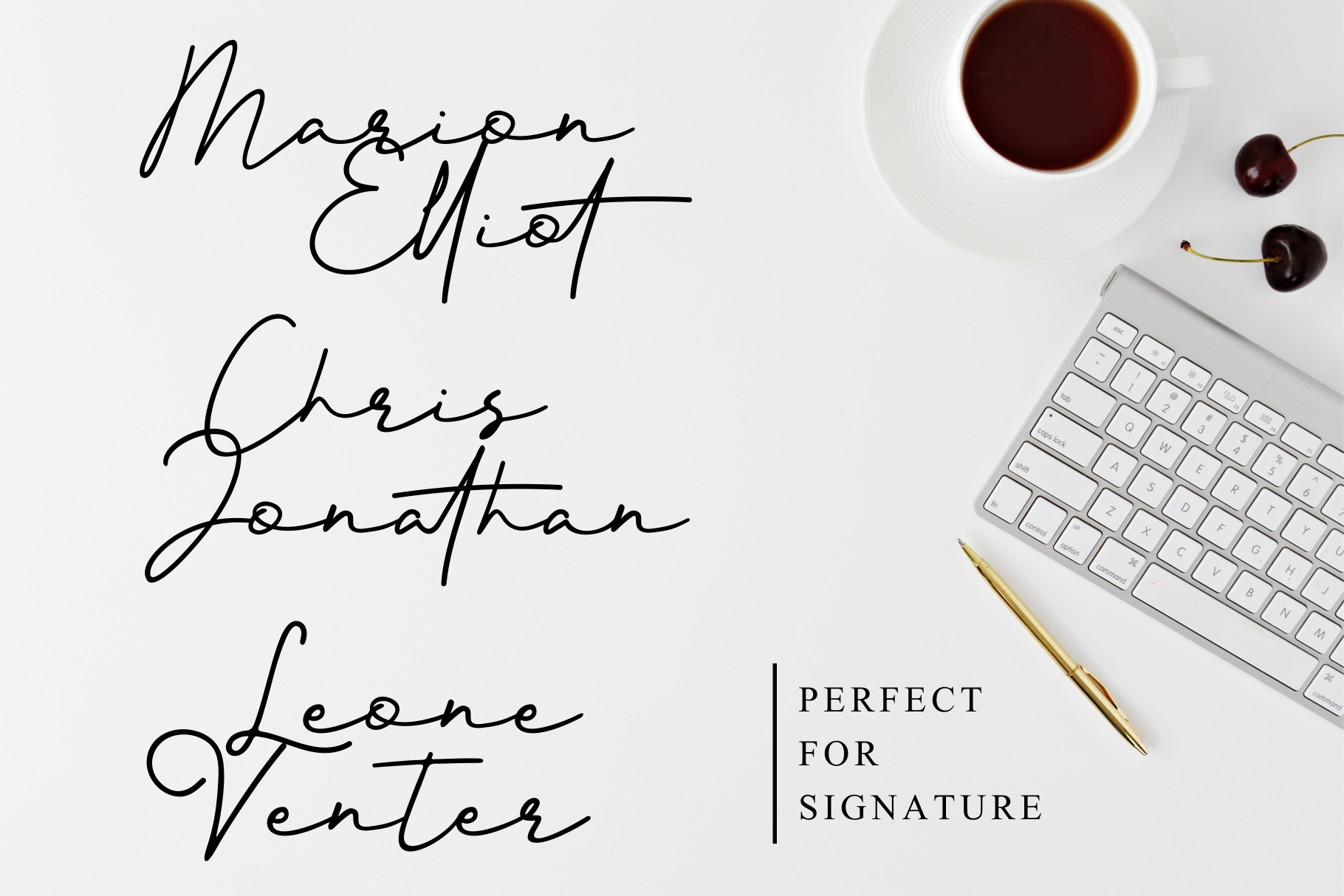 Better Signature Font example image 3