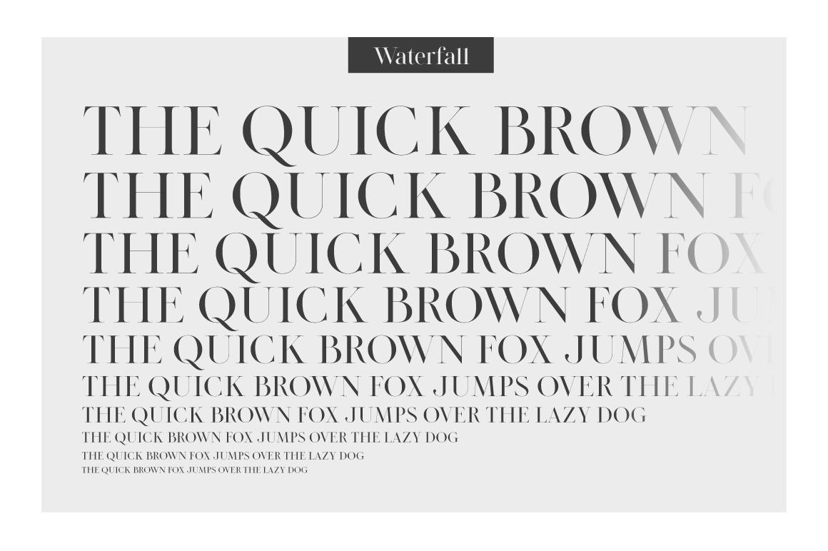 LEGATUM font family example image 10