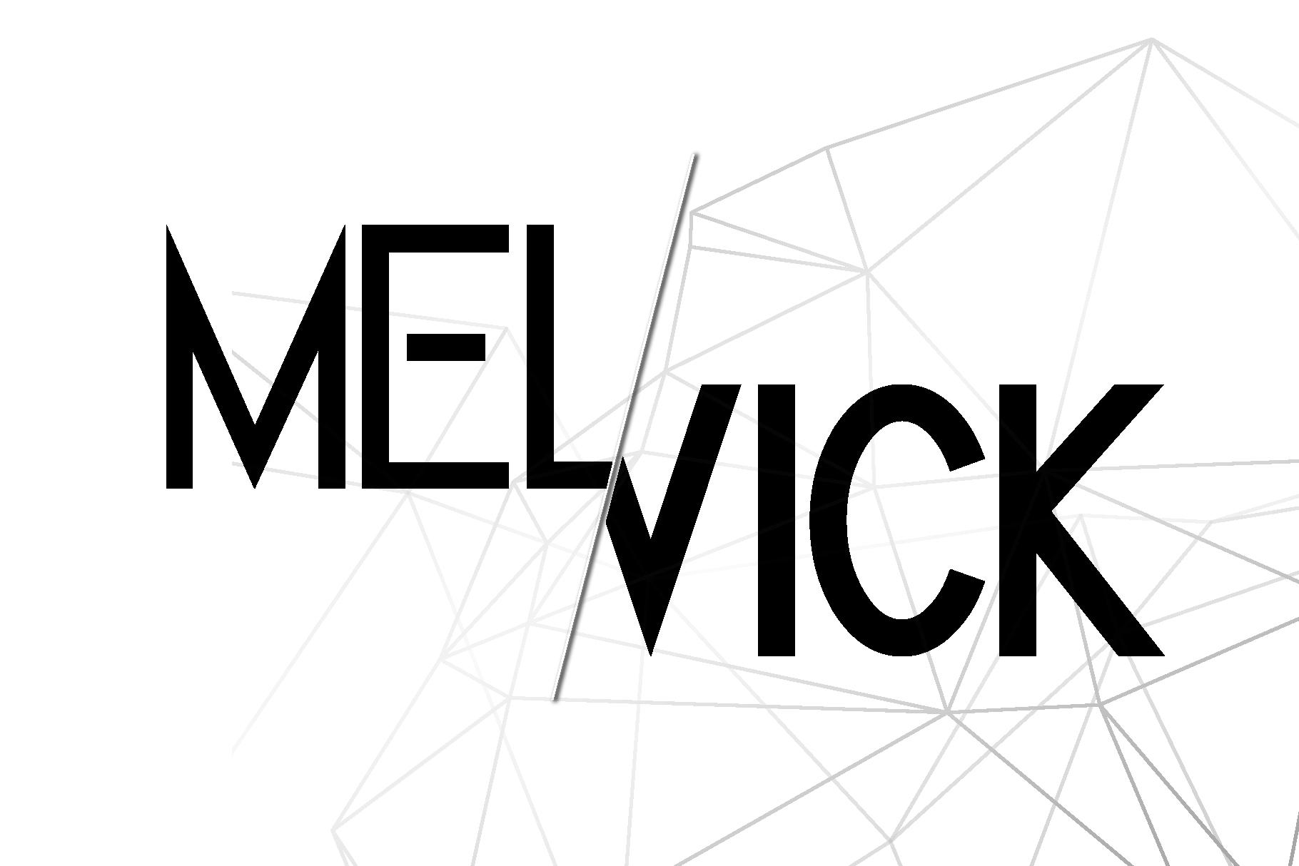 Melvick - 12 Font Family & EXTRA LOGO example image 1