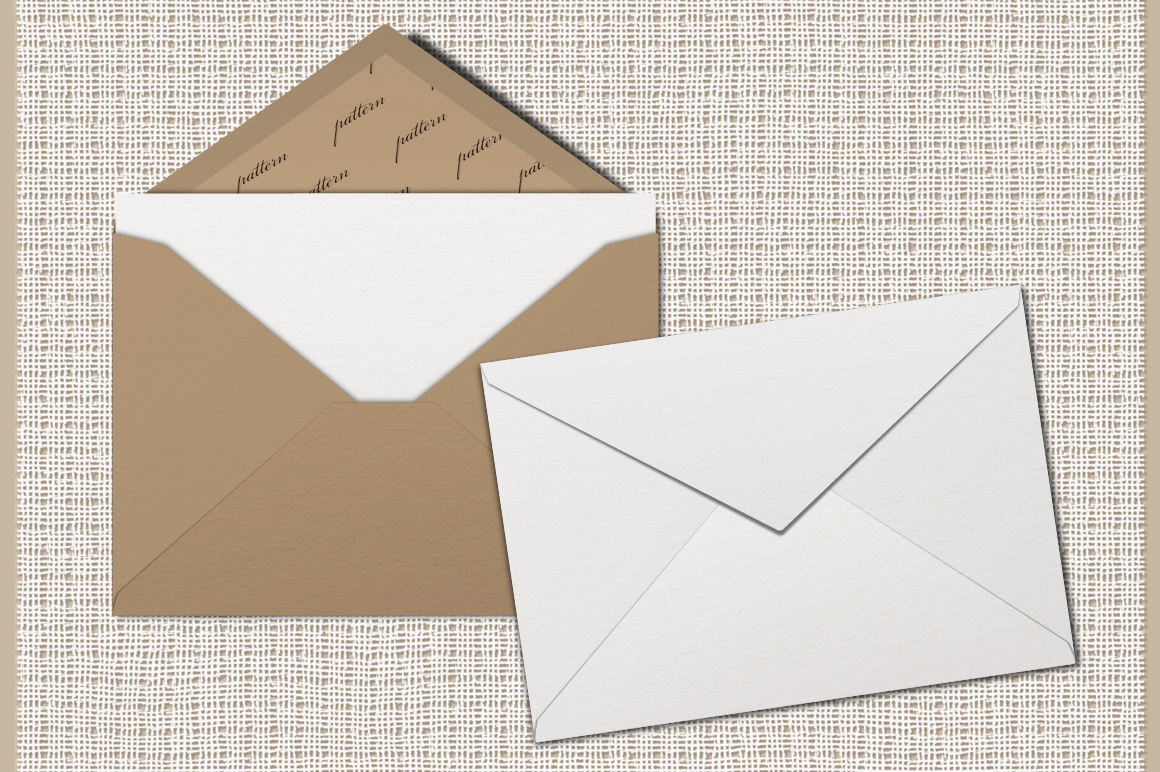 Mockup pack. Greeting Cards & Envelope. example image 3