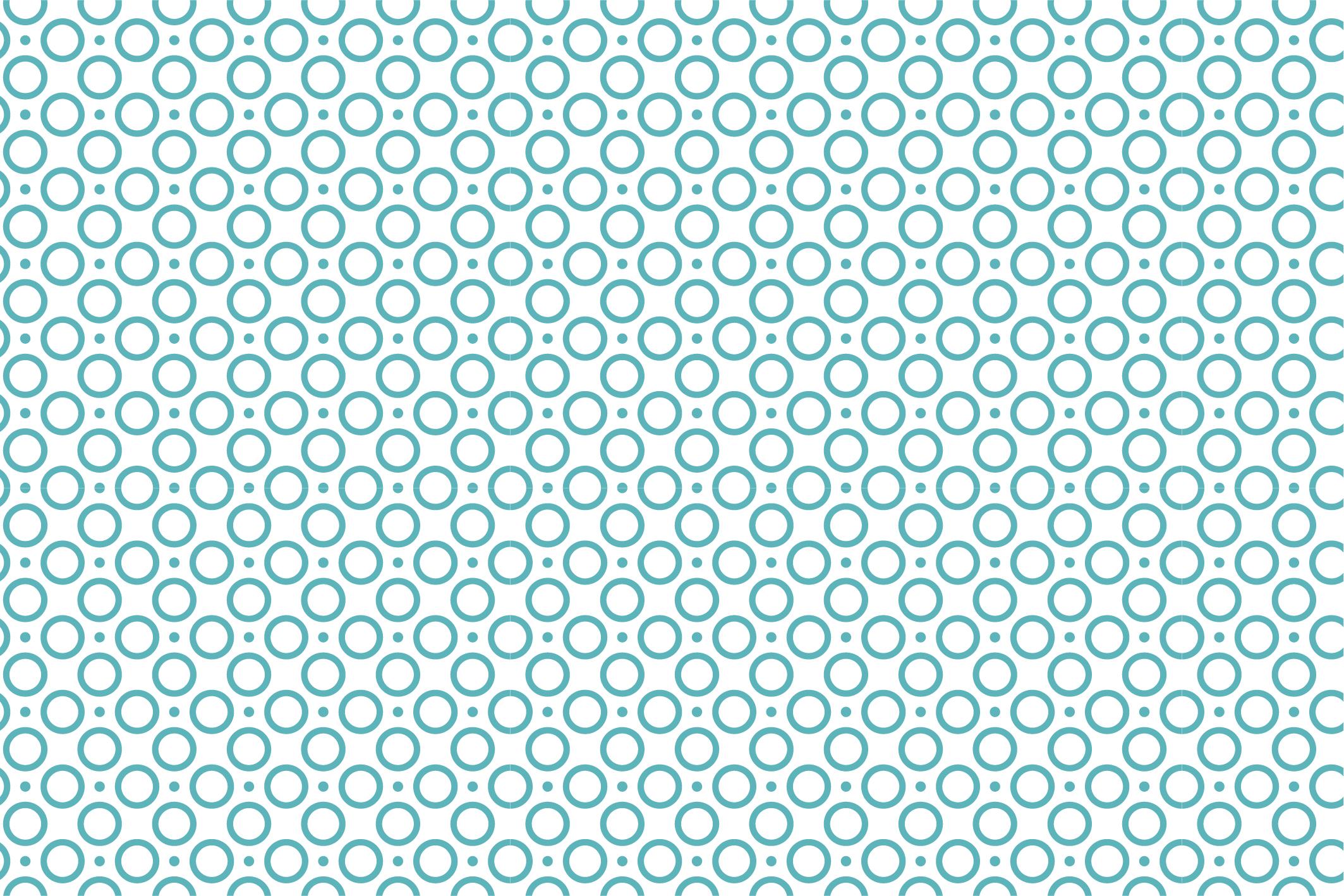 Modern geometric seamless patterns. example image 11