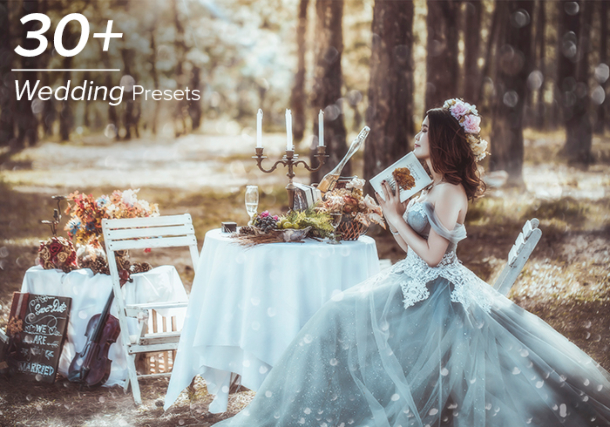 1800 Wedding Effects Bundle example image 7