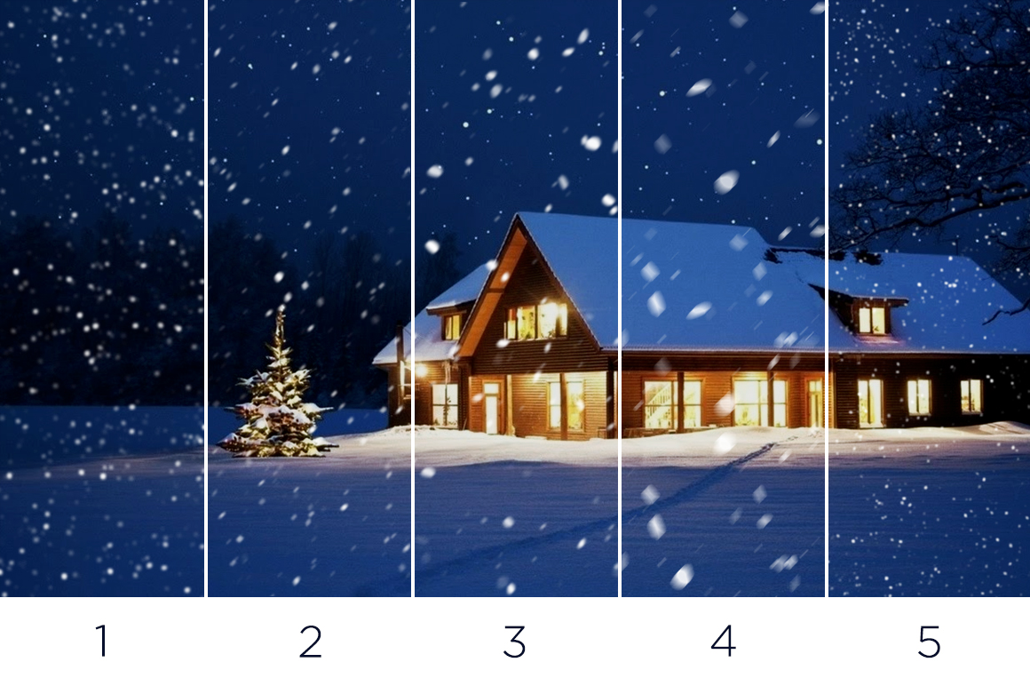 30 Real Snow Overlays example image 4
