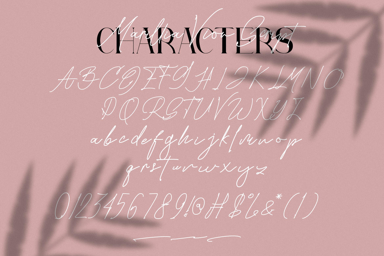 Marillia Vion - Font duo example image 13