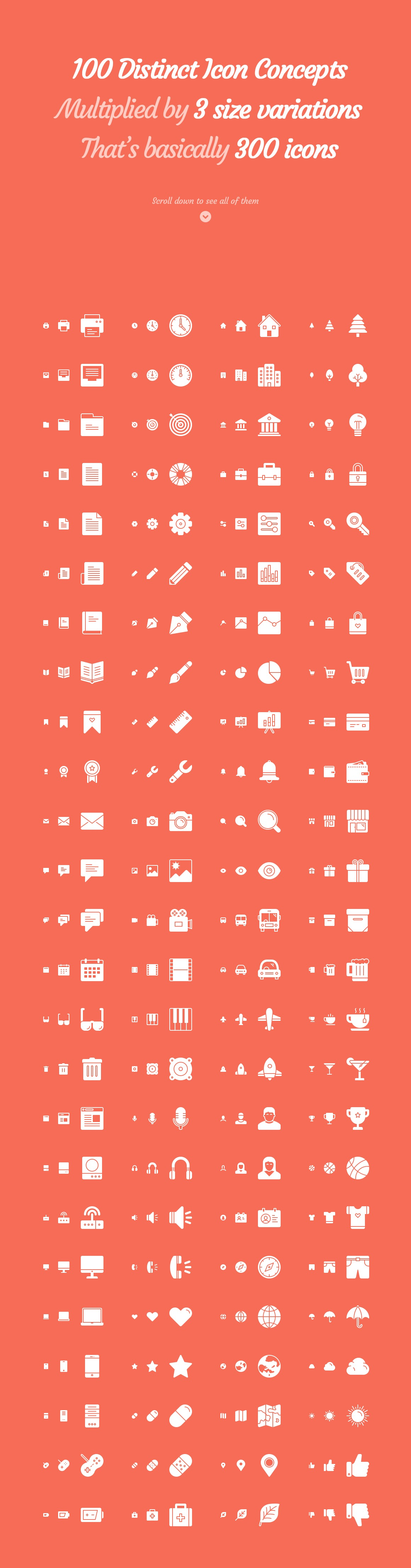 Responsive Icons – The Complete Pack example image 4