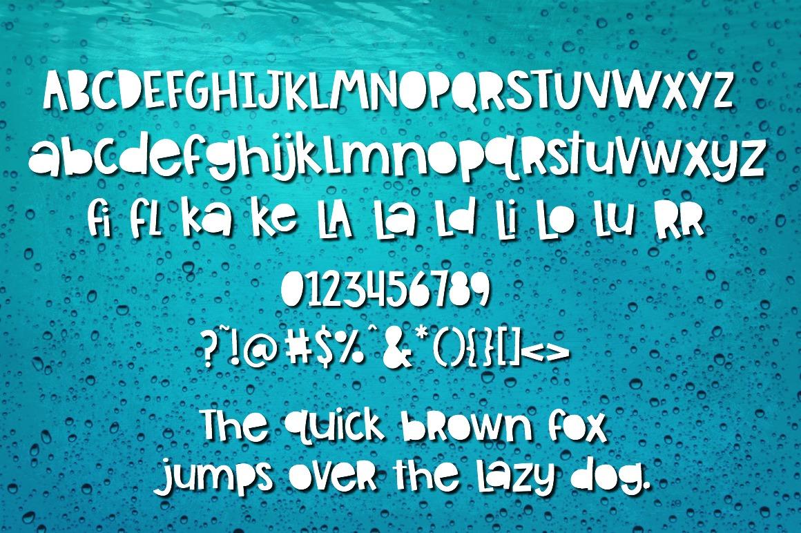 Tilapia Sans example image 3