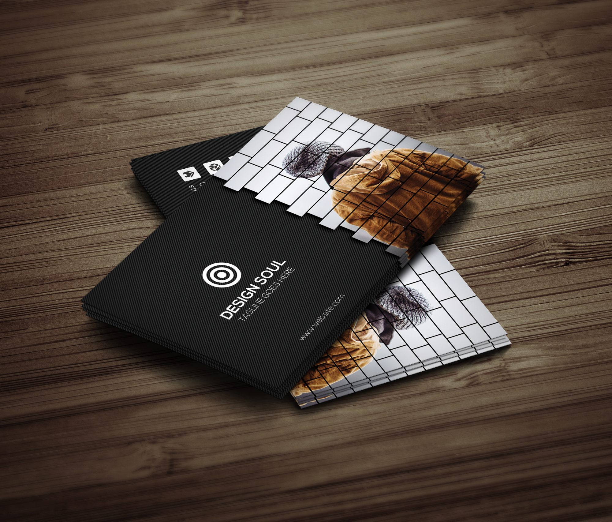 Creative Business Card example image 3