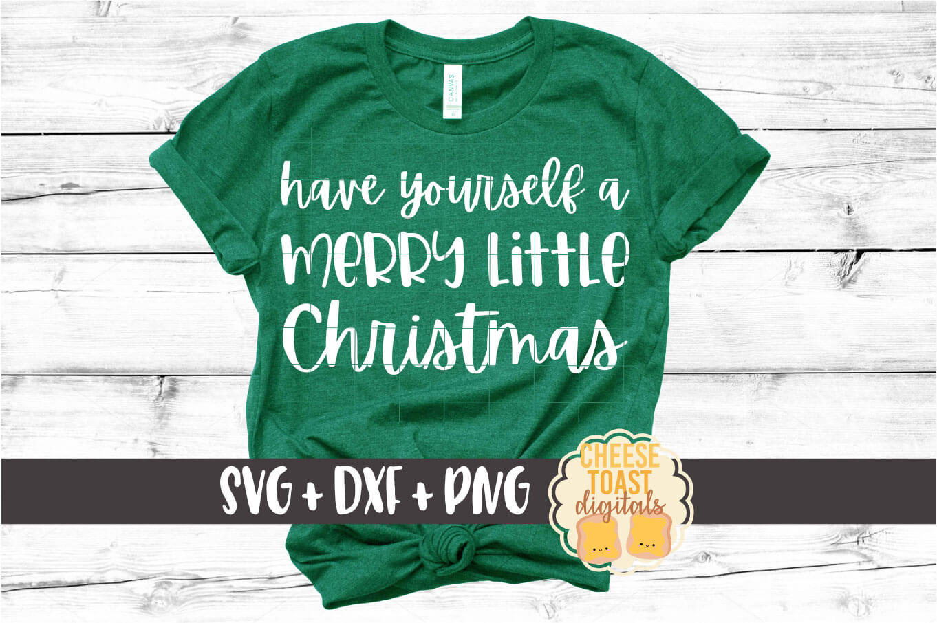 Have Yourself A Merry Little Christmas - SVG PNG DXF Files example image 1