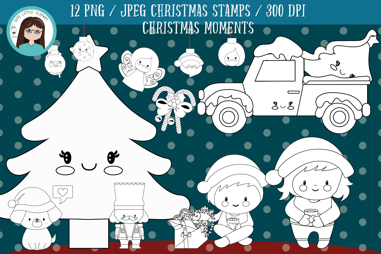 Christmas Stamps.Christmas Moments Stamps