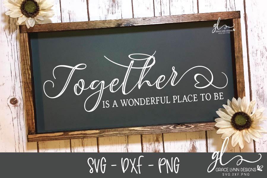 Farmhouse Sign Bundle Vol. 2 - SVG, DXF & PNG - 8 Designs example image 8