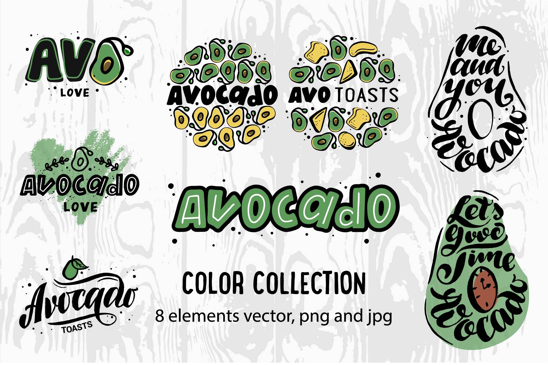 Logo & Lettering Eco collection example image 3