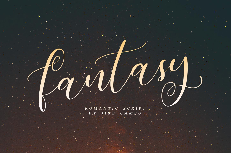 Fantasy - Romantic Script example image 1