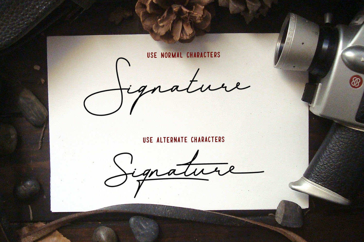 Blesing signature style example image 4