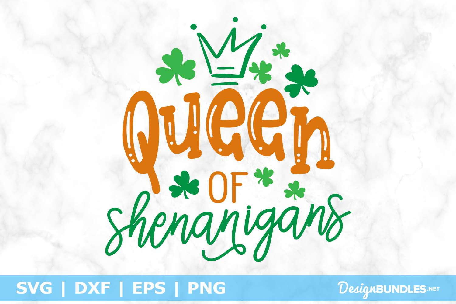 Queen of Shenanigans SVG File example image 1