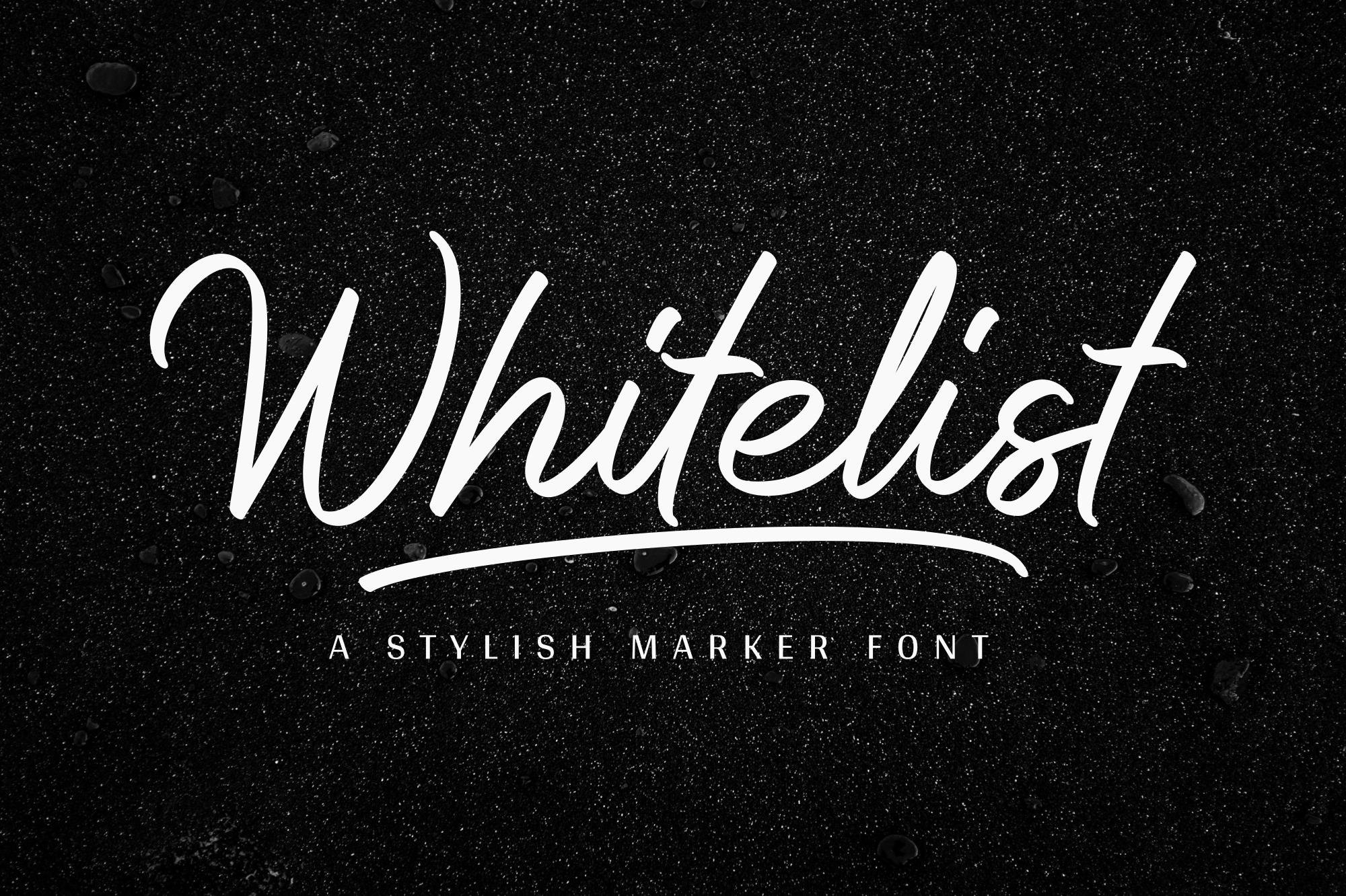 Whitelist example image 1