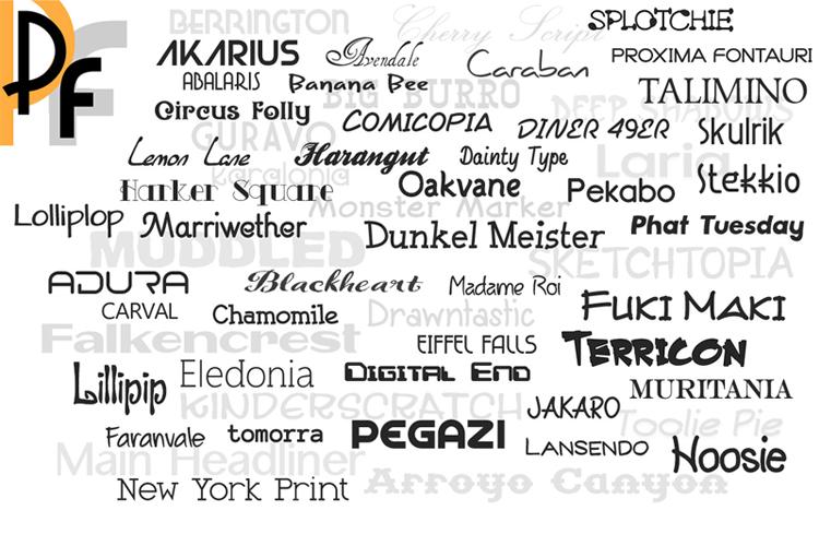 Premium Fonts example image 2