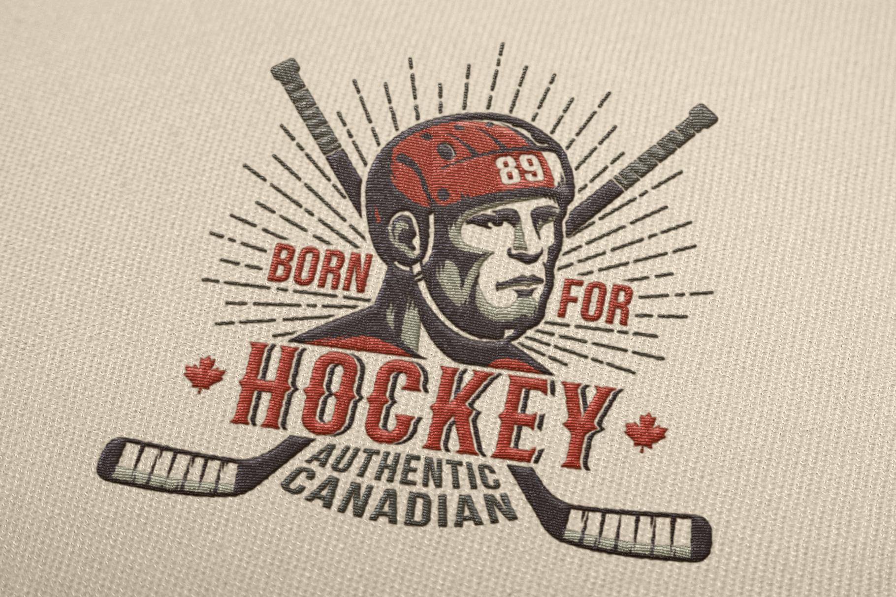 Canadian Hockey Logo example image 3