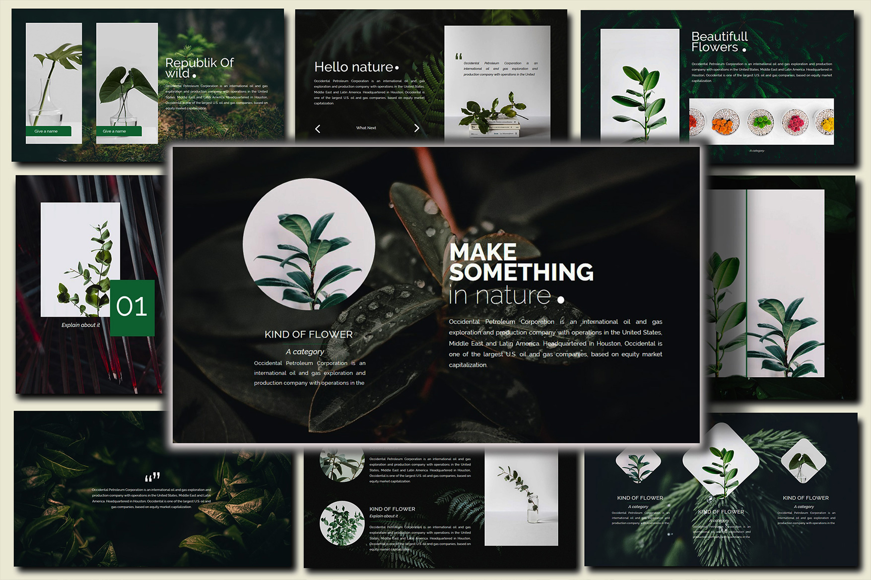 Nature Keynote Template example image 4