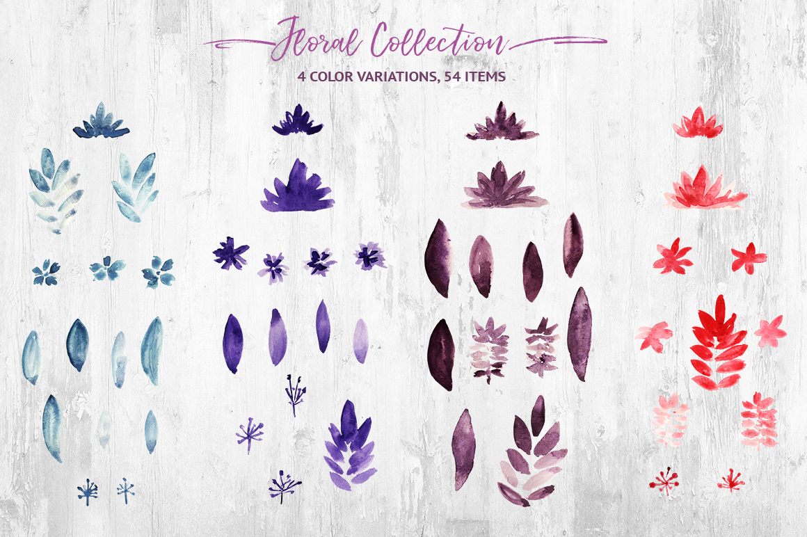 Watercolor Ribbon Collection example image 3