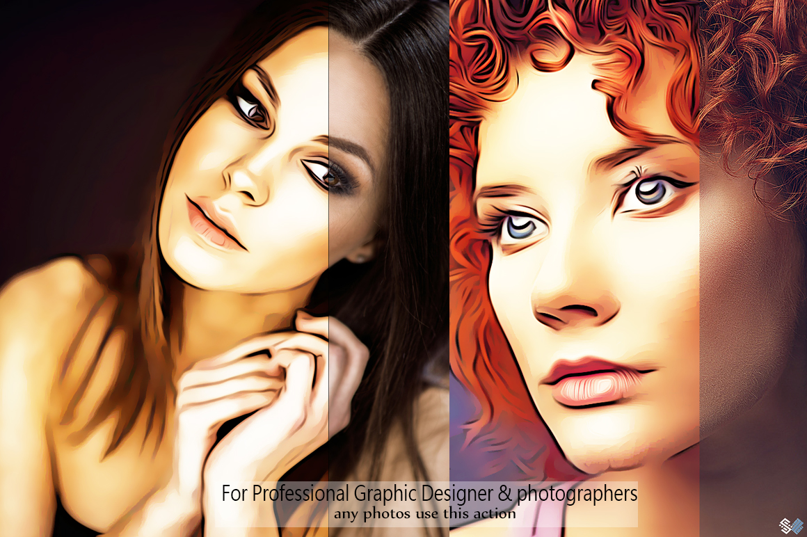 Realistic Oil Painting Effects - Photoshop Action v.5 example image 4