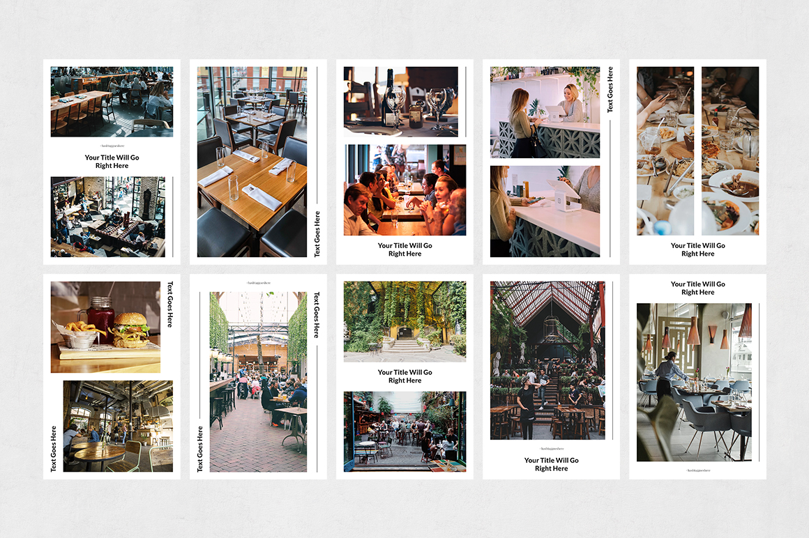 Restaurant Pinterest Posts example image 8