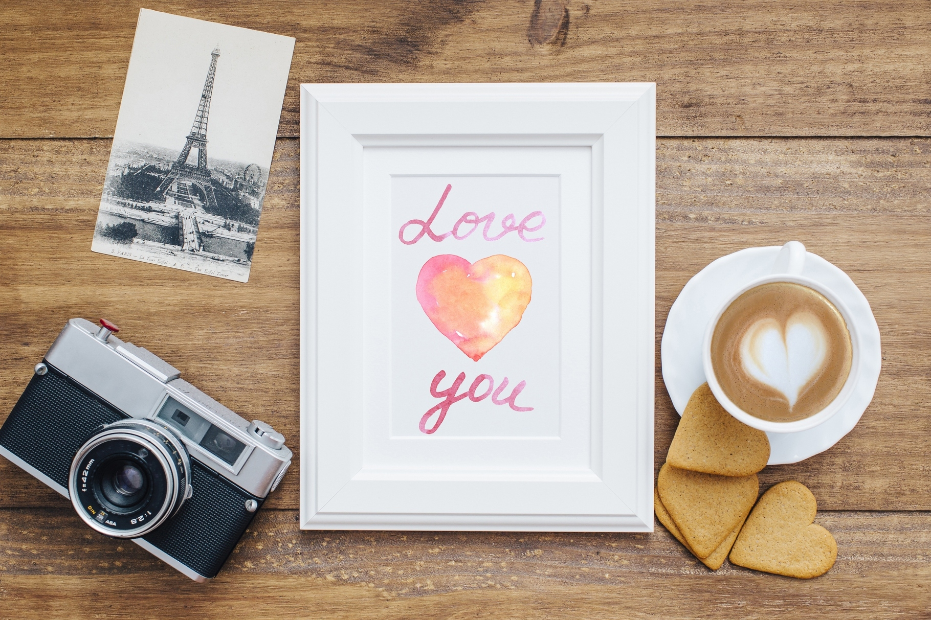 Watercolor Love collection example image 4