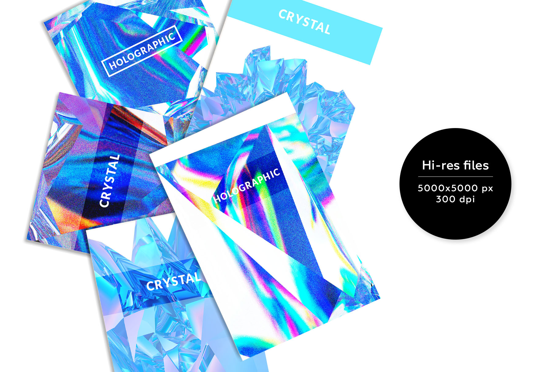 Crystalic - abstract shapes example image 3