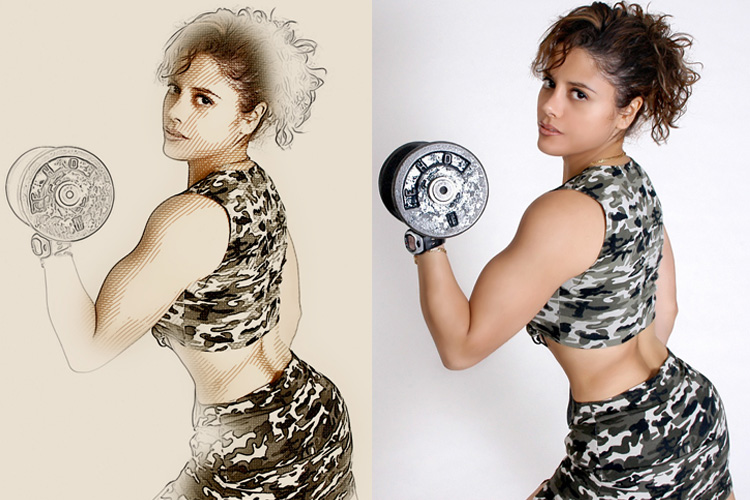 Mix Art Photoshop Action example image 12
