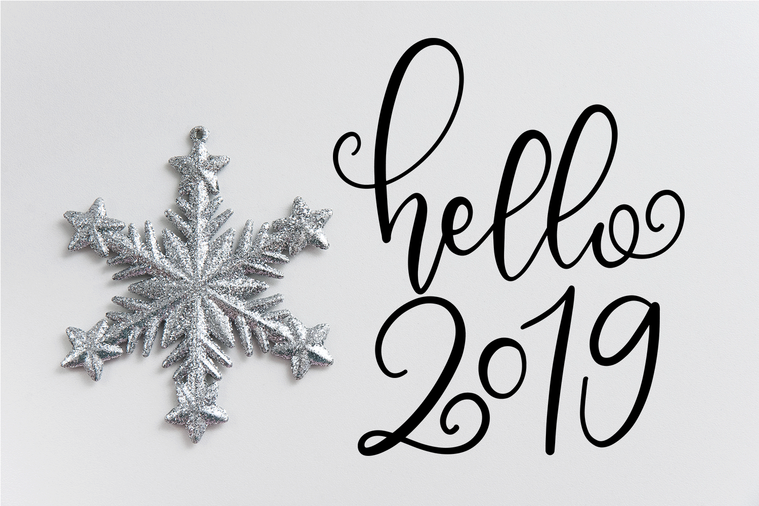 New Year SVG Bundle- Hand-lettered - 11 SVG Cut Files example image 8