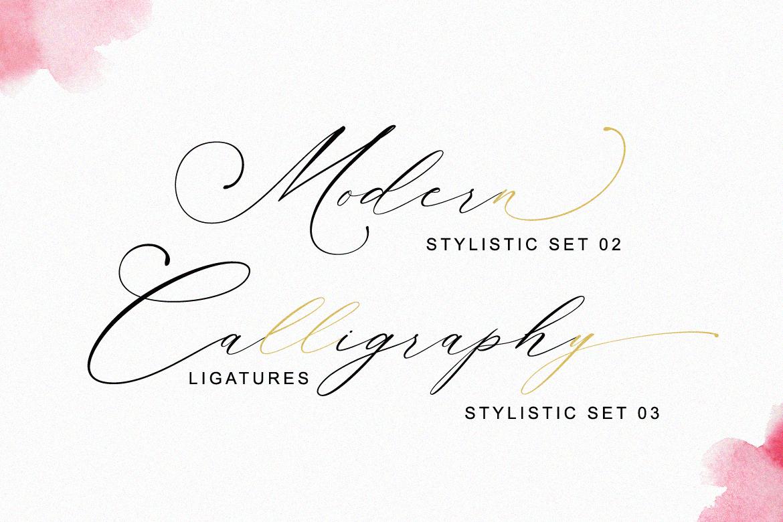 Planolla | Modern Calligraphy example image 4