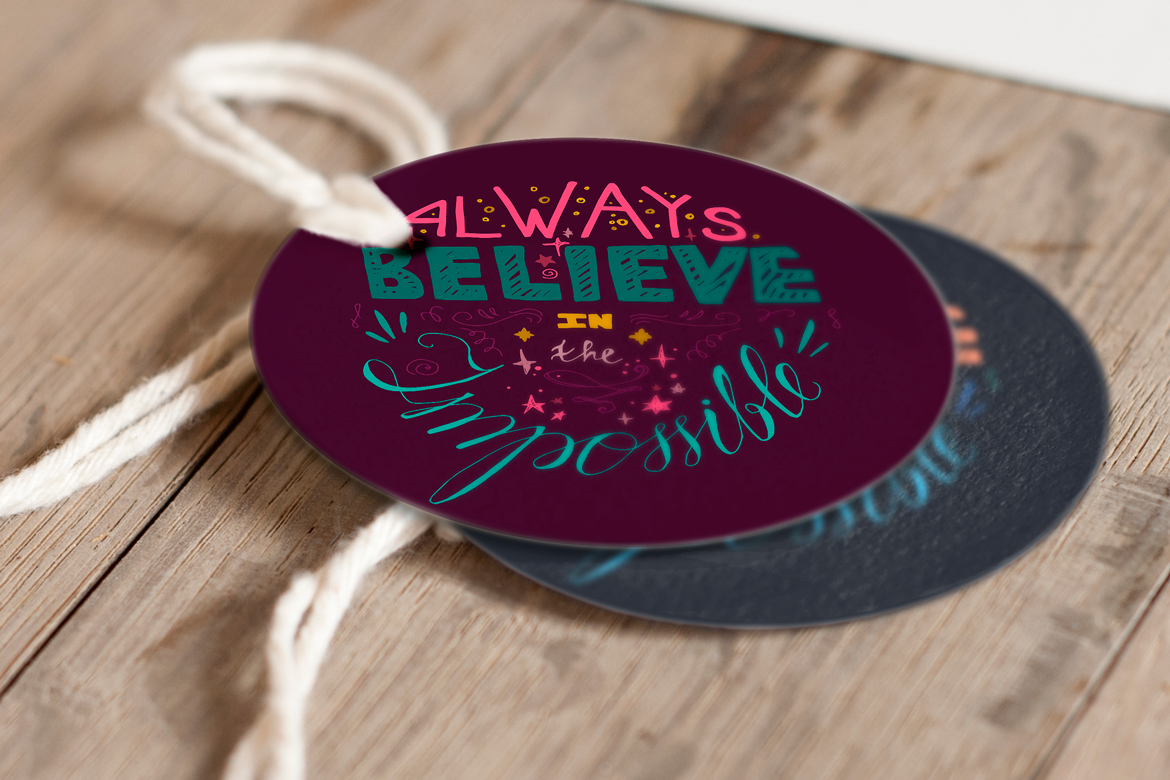 Always Believe In The Impossible example image 4